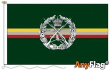 SMALL ARMS SCHOOL CORPS SILVER  ANYFLAG RANGE - VARIOUS SIZES